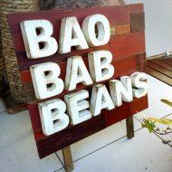 baobab-beans 様 木製看板