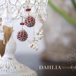 『DAHLIA[だりあ]Exhibition』DMデザイン
